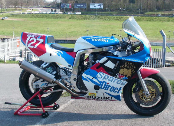 Reflex Motorsport with their open superstock bike